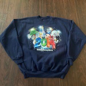 2014 Walt Disney World Crewneck Sweatshirt Large